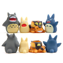 Puppets Totoro Education Toys For Children Gardening Potted Plant Decoration Finger Toys Cartoon Kawaii Baby Toys Finger Puppet(China)