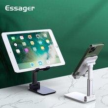 Essager suporte do telefone móvel suporte universal desktop tablet suporte de metal ajustável mesa telefone celular titular para iphone ipad