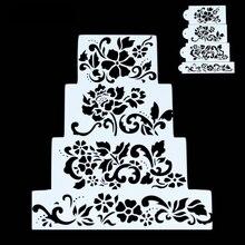 Комплект из 4 предметов свадебный торт украшения для девочки