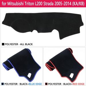 Image 3 - Противоскользящий коврик для приборной панели Mitsubishi L200, Triton, Strada, Strakar, barbaran Hunter, Strakar, Солнцезащитный коврик, аксессуары
