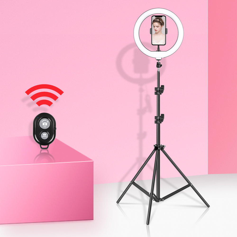 10 polegada 26cm luz de vídeo pode