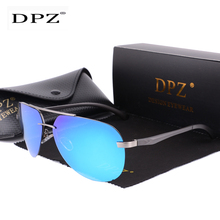 2020 DPZ Aluminum magnesium polarized fashion Sunglasses women men aviation riml