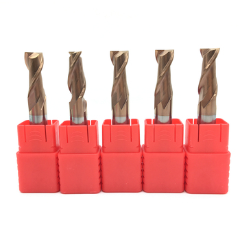 цена на 2 Flutes HRC55 Carbide end mill Milling Cutter Alloy Coating Tungsten Steel endmills cutting tool CNC maching Endmill