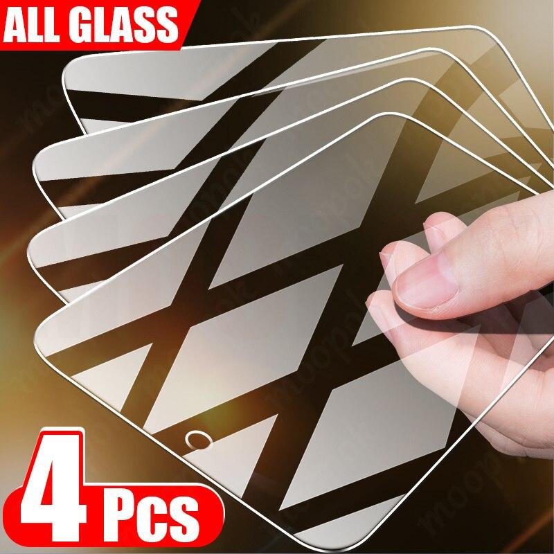 Защитное стекло, закаленное стекло для Samsung Galaxy A51/A71/A50/A70/A72/A52/A30/M31/M51/A20, 4 шт.