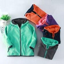 Детская зимняя Флисовая теплая куртка, пальто для кемпинга, туризма, альпинизма, треккинга, лыжного туризма