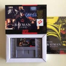 16 бит игры* Бэтмен возвращается(версия США! Коробка+ руководство+ картридж