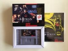 16Bit Games ** Batman Returns ( USA Version!! Box+Manual+Cartridge!! )