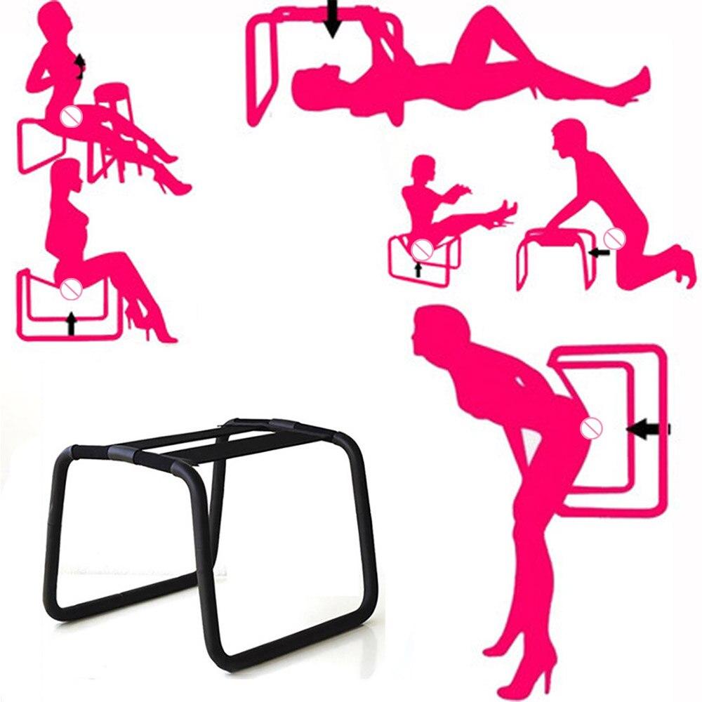 Многофункциональное кресло для интима, стул для интима для пар, секс стул для женской мастурбации, секс мебель для пар 30