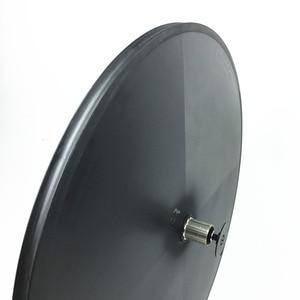 Image 3 - Elite Carbon Disc Wheels Japan Toray Carbon Fiber T700 Tubular Or Clincher Racing Wheelset  Basalt Surface Powerway Hub