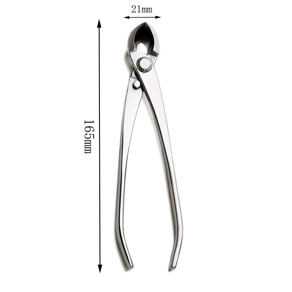 Bonsai Edge Grade Alloy Straight Cutter Tools BBTS Branch 06 Steel Cutter 165mm Beginner