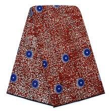 Ткань Анкары африканская настоящая восковая печать настоящий