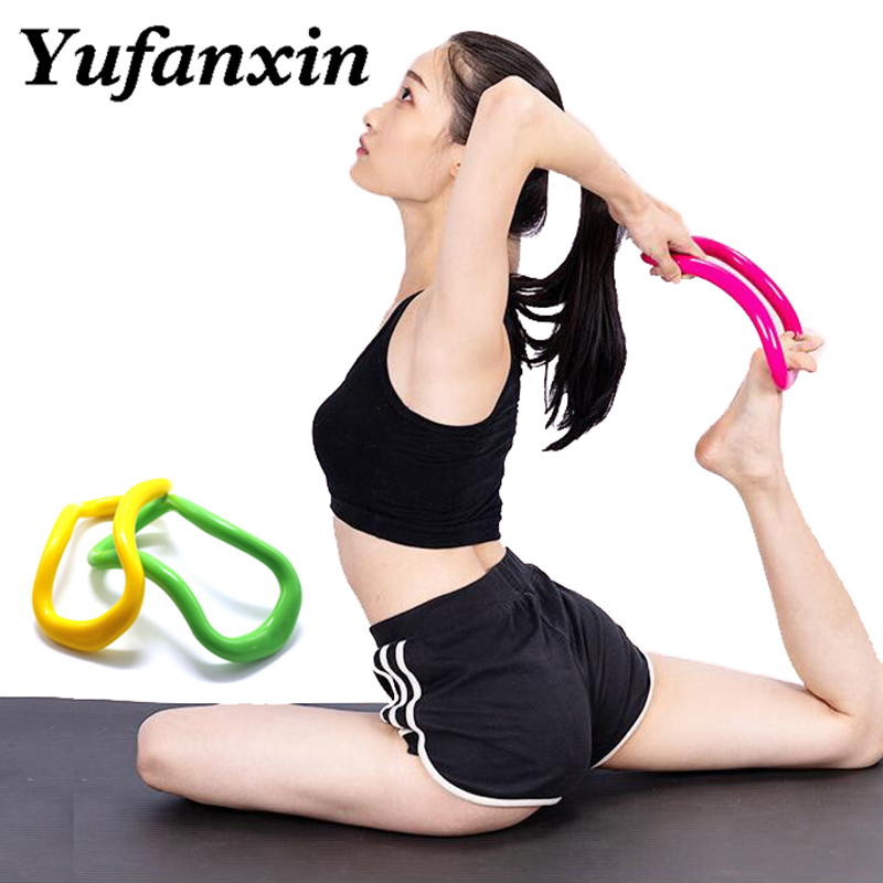 Yoga Circle Yoga Stretchdline Ring Home Women Fitness Equipment Fascia Massage Workout Pilates Bodybuilding Fitness Circle