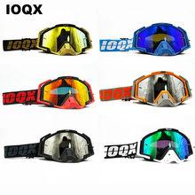Lunettes de soleil pour Moto | Lunettes d'extérieur, ATV pour Motocross, Casque, IOQX MX lunettes de Casque pour Moto