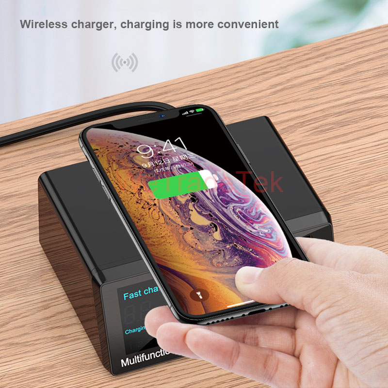 3 0 Charging PD For Ports Wireless Phone Samsung Huawei Charging Charger 8 QC USB Battery Intelligent Digital IPad Quick Fast