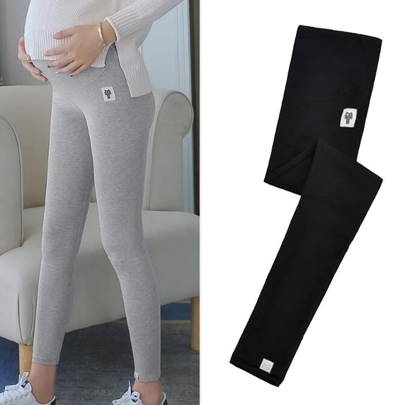Maternity Pants Adjustable Waist Women Leggings For Pregnant Women Clothes Comfy Leisure Pregnancy Leggings Soft Slim Summer