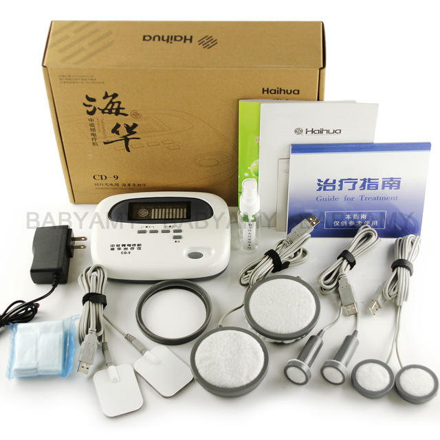 HaiHua CD 9X 낮은 및 중간 주파수 치료 장치 전기 침술 치료기구 바디 마사지 100V 240V