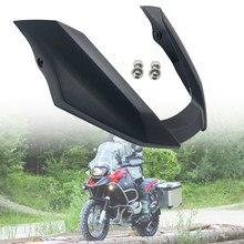 Para bmw r1200gs r 1200 gs 1200gs 2008 2009 2010 2011 2012 motocicleta frente bico carenagem extensão extensor da roda capa preta