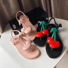 SWYIVY Plastic Casual Shoes Woman Flat Sandals Women 2020 Summer Sandals Women Shoes Flip Flop Sandale Femme Fashion Ladies Shoe