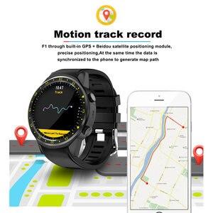 Image 5 - Reloj inteligente deportivo F1 con GPS para hombre, reloj inteligente deportivo con tarjeta SIM, control del ritmo cardíaco y conexión android iOS teléfono móvil
