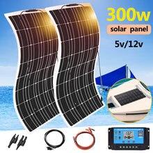 Солнечная батарея панель12 в 300 Вт комплект системы зарядное