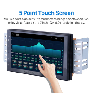 Image 2 - Seicane 2GB RAM 32GB ROM Android 9,1 2Din Universal Auto Radio GPS Multimedia Player Für TOYOTA Nissan Kia RAV4 Honda VW Hyundai
