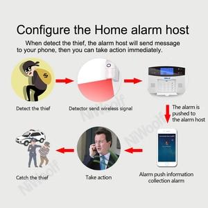 Image 4 - Detector imune do pir do animal de estimação 433mhz, sensor de movimento, apropriado para abaixo de 25kg animal, para o sistema de alarme do assaltante da casa de wifi/gsm