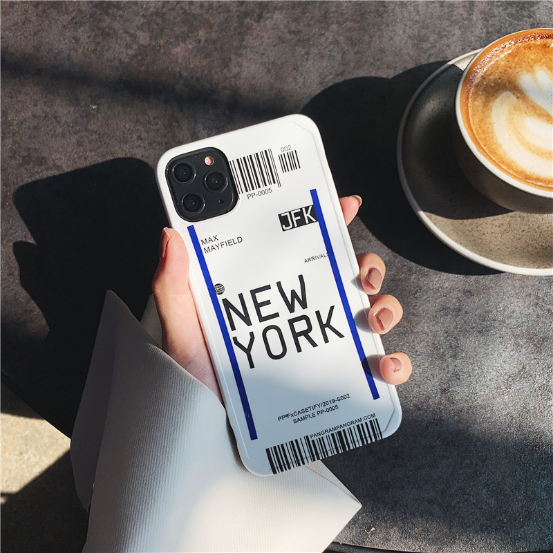 Airport Code Travel Phone Case for iPhone