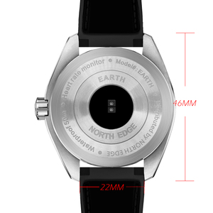Image 3 - Kuzey kenar erkek spor akıllı saatler su geçirmez 50M pedometre nabız monitörü spor izci FLOAT dokunmatik tec ekran saati