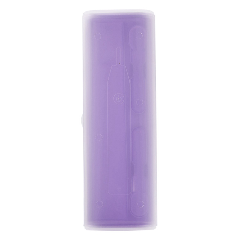 Portable Electric Toothbrush Holder Case Box Travel Camping For Oral-B 4 Colors(Purple) image