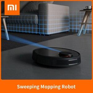 XIAOMI zamiatanie mopem Robot odkurzacz STYJ02YM dla domu automatyczna sterylizacja kurzu inteligentne planowane WIFI cyklon ssania