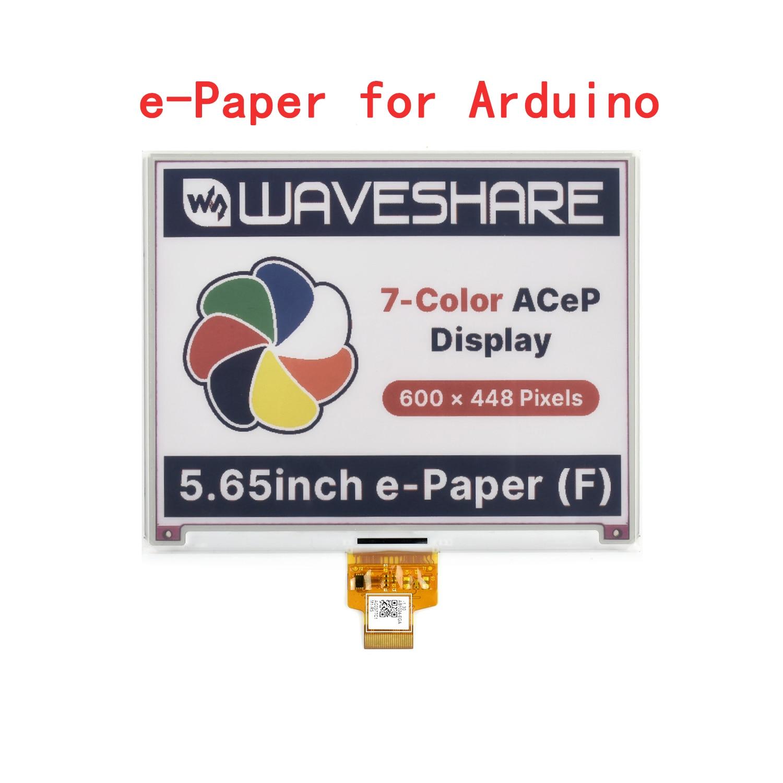 5,65 дюймовый цветной Epaper Eink E-ink модуль экрана дисплея + Щит платы драйвера стартовый комплект для Arduino Leonardo для Uno R3 STM32