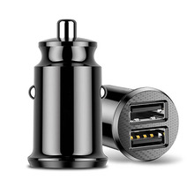 3.1A Mini Fast Charging Dual 2 USB Port Car Charger Adapter For Mobile Phone Car Charge Accessories For Smart Cell Phone цена