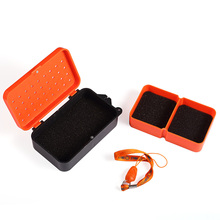 Plastic Box Earthworm-Lure Fishing-Storage Live-Bait Carp Compartments 2 Containers Fly-Bass