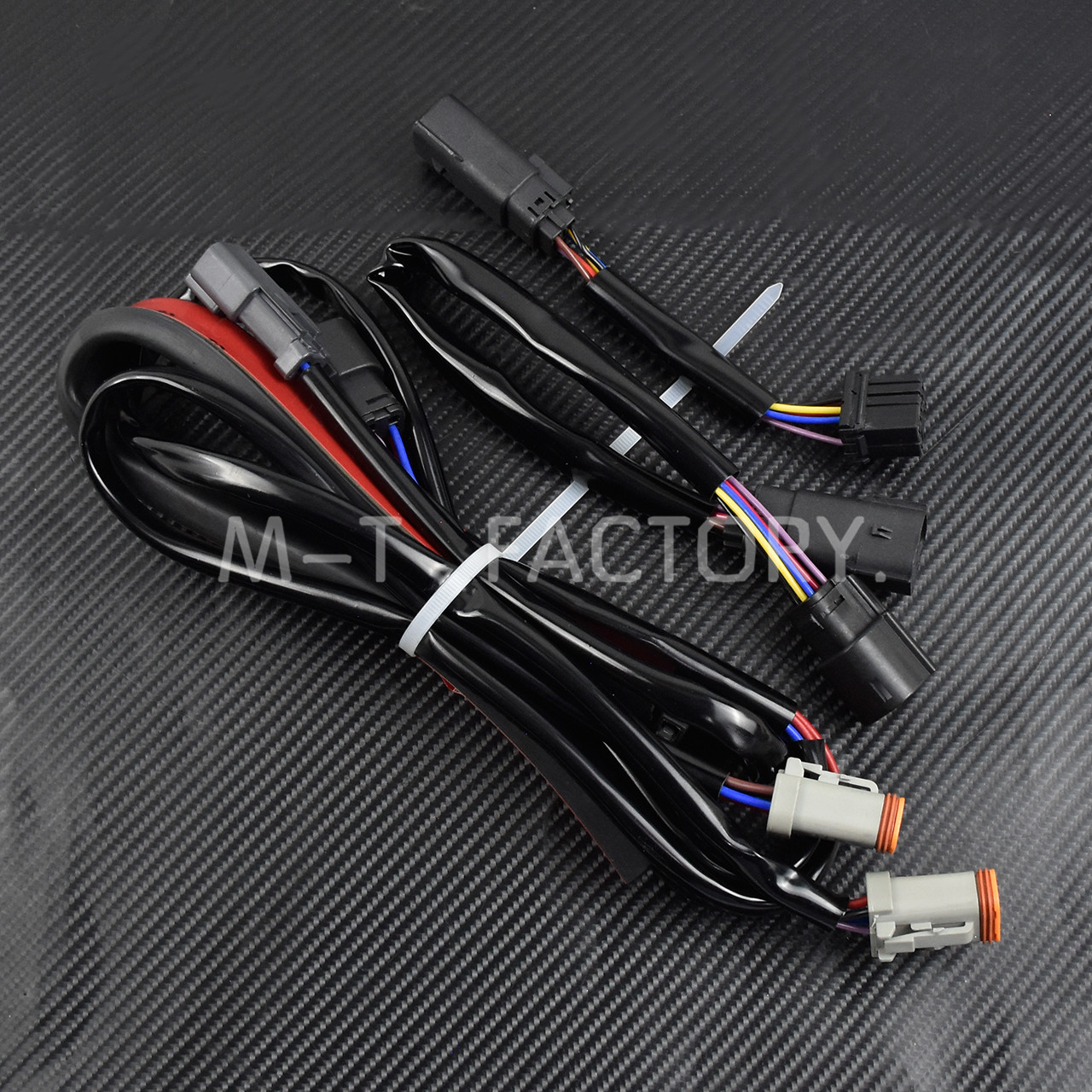 Image 5 - Motorcycle LED Light Rear Fender Extension Fascia Set For Harley Touring Electra Road Glide 2014 Up FLTRXS Ultra Limited FLHXCovers & Ornamental Mouldings   -
