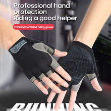 Cycling Gloves Breathable Bicycle Gloves Half Finger Gloves MTB Mountain Bike Riding Gloves Outdoor Anti-slip Sports Gloves cheap CN(Origin) Cotton Universal Washable