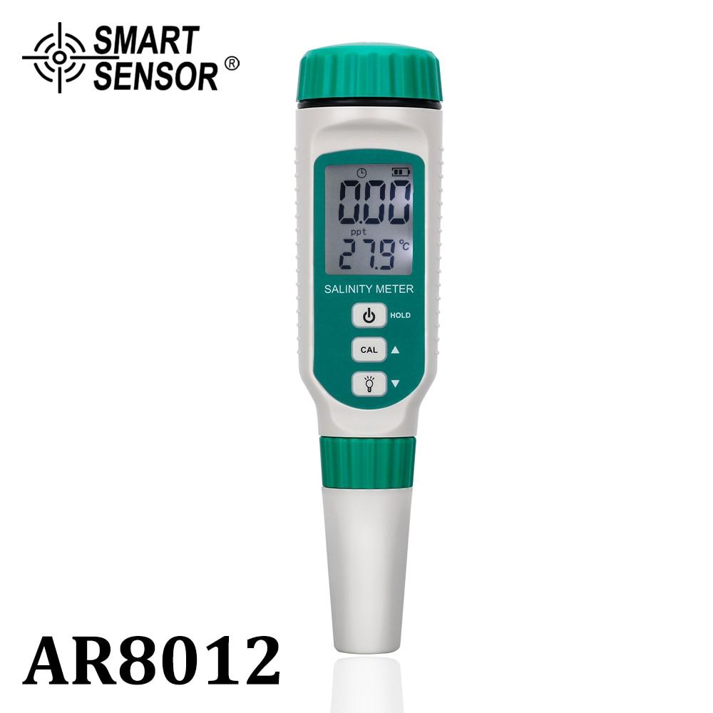 Digital Salinity Meter Tester Pen Food Beverages Salt Content Water Quality Test Aquarium Seawater Meter Measurement Salinometer