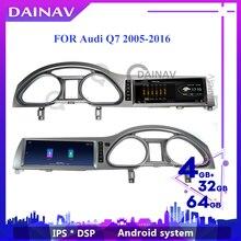 10,25 дюймовый Android автомобильный радиоприемник с навигацией GPS для-AUDI Q7 2005 - 2016 автомобильный android мультимедийный HD экран Стерео Авторадио