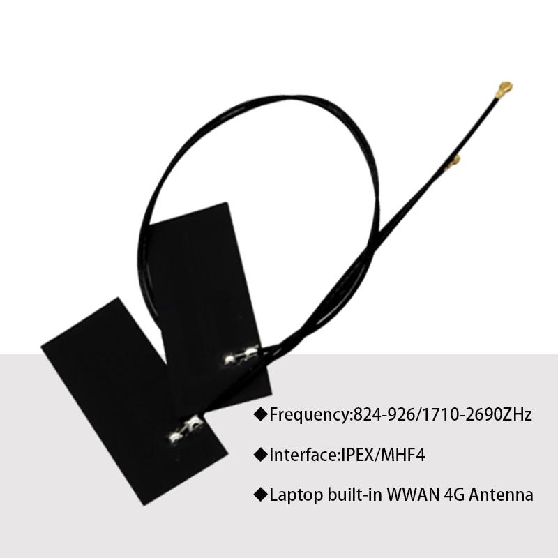 NGFF M.2 IPEX4 Antenna 8DB GSM 2G 3G 4G LTE Full Band Laptop WWAN Built-in FPC Circuit Board For EM7304 EM7430 EM7455 EM7345