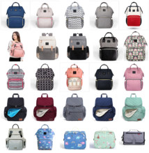 Get more info on the AuthenticMommy Diaper Bags Mother Large Capacity Travel Nappy Backpacks with anti-loss zipper Baby Nursing Bags dropship