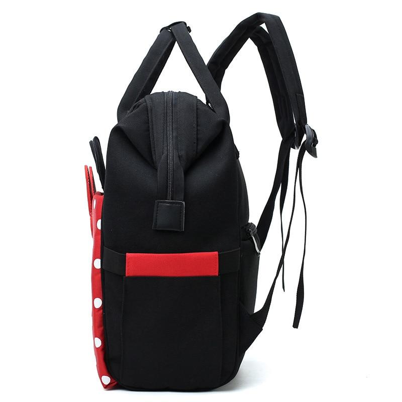 Diaper Bag MOTHER'S Bag Multi-functional Polka Dot Butterfly Shoulder Mommy Bag Fashion Baoma Nursing Backpack Baby Bottle Bag