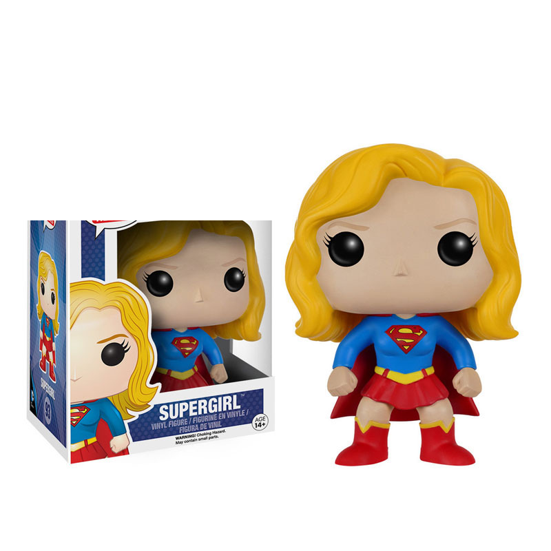 FUNKO Super Heroes Supergirl 92 Vinyl Action Figure Collection Model toys for Children Christmas gift