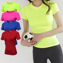 Новая качественная женская рубашка для йоги тренировочная облегающая
