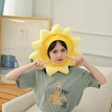 Women Hat Girls Bonnets for Women 2021 Fashion Skullies Sunflower Cute Beanies Designer Hats for Women Cap Funny Party Hat