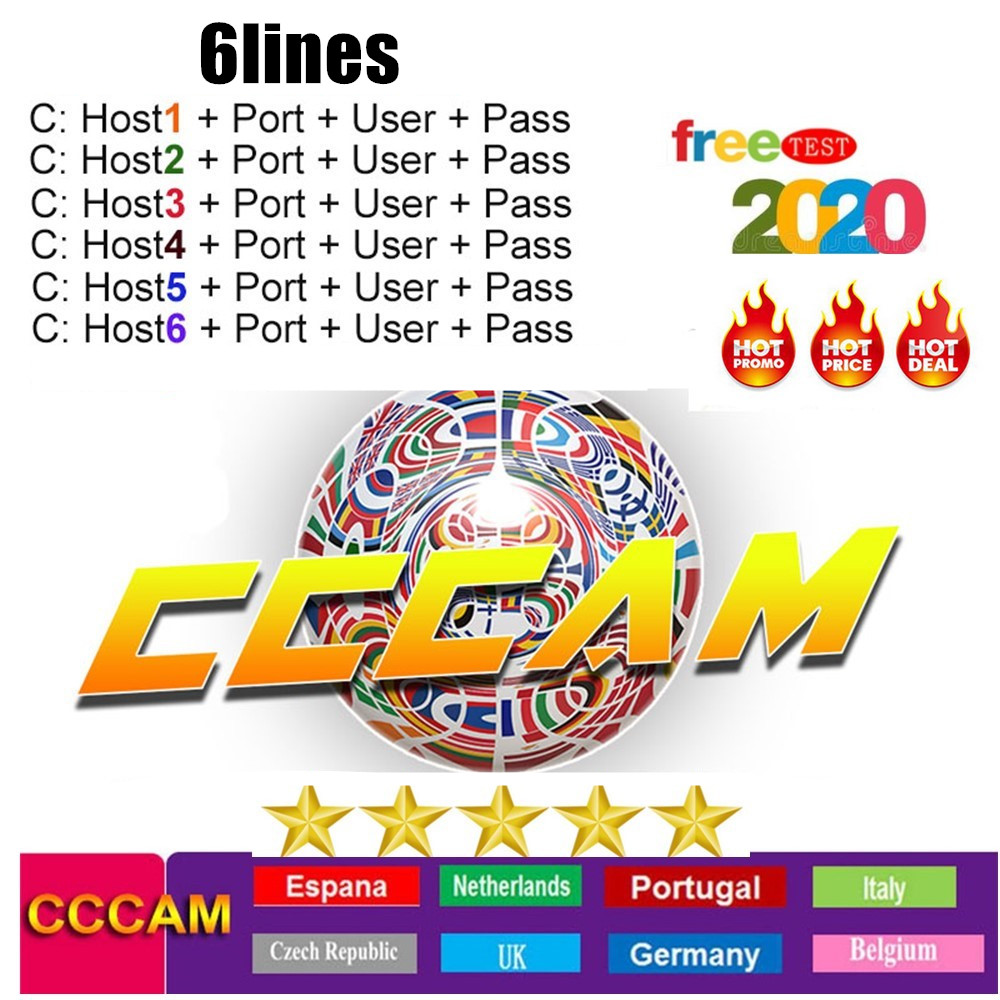 Europe Cccam Server Spain Portugal Poland Germany Cccam Cline Oscam Cline For 1 Year Europe Cccam 6 Cline For Satellite Receiver