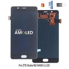 Cho ZTE Nubia M2 NX551J Màn Hình Hiển Thị LCD Bộ Số Hóa Cảm Ứng Cho ZTE Nubia M2 Màn Hình LCD Hiển Thị Màn Hình Thay Thế Miễn Phí dụng Cụ