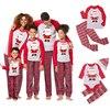 חג המולד משפחה סט משפחה התאמת בגדי 2019 חג המולד מפלגה למבוגרים בגדי ילדים פיג מה סט כותנה תינוק Romper הלבשת
