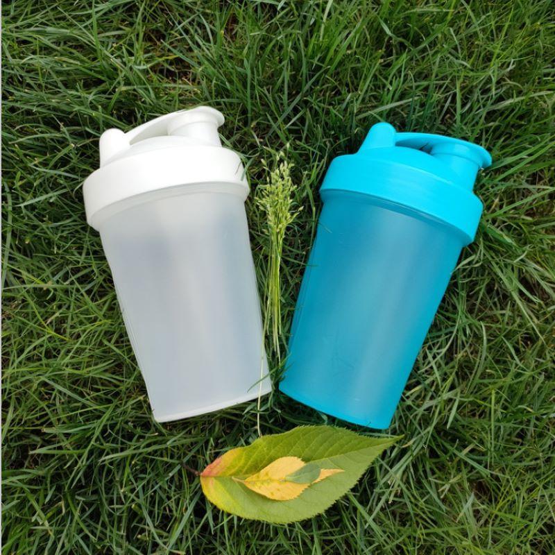 Спортивная бутылка для взбивания сывороточного протеина 400 мл, бутылка для смешивания, спортивный фитнес-блендер, портативная пластиковая ...
