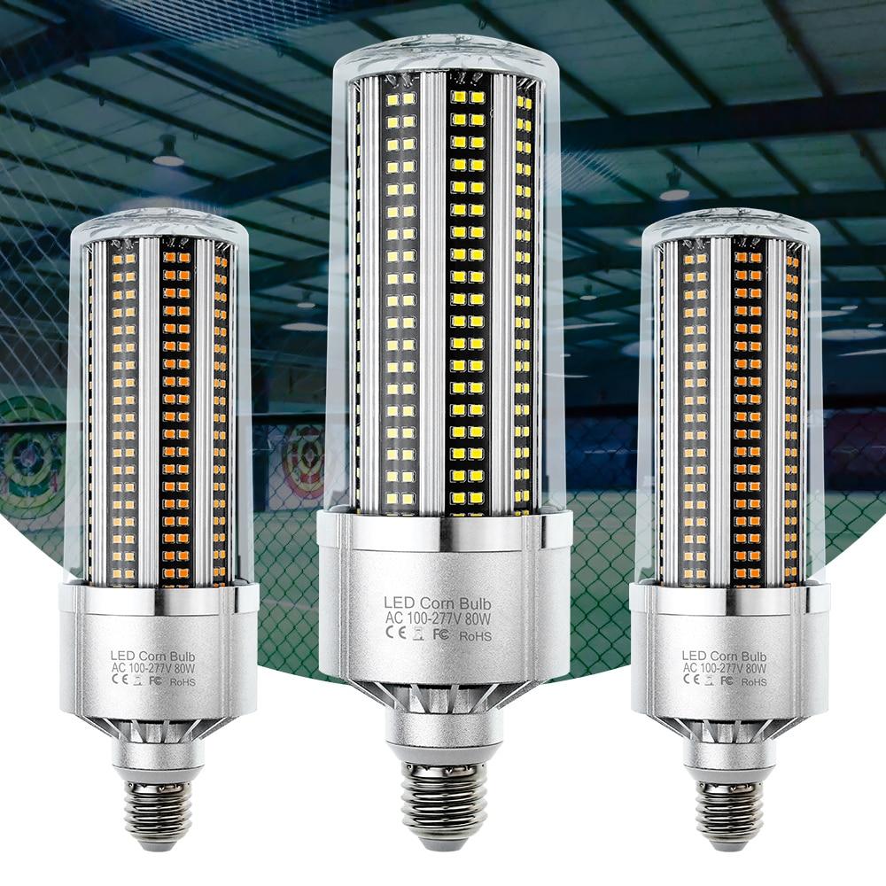 Bombilla LED de 200W, 150W, 120W, 100W, 110 W, 80W, lámpara LED E27, 220V, Bombilla de maíz E39, lámpara LED de V, iluminación de taller de fábrica E40