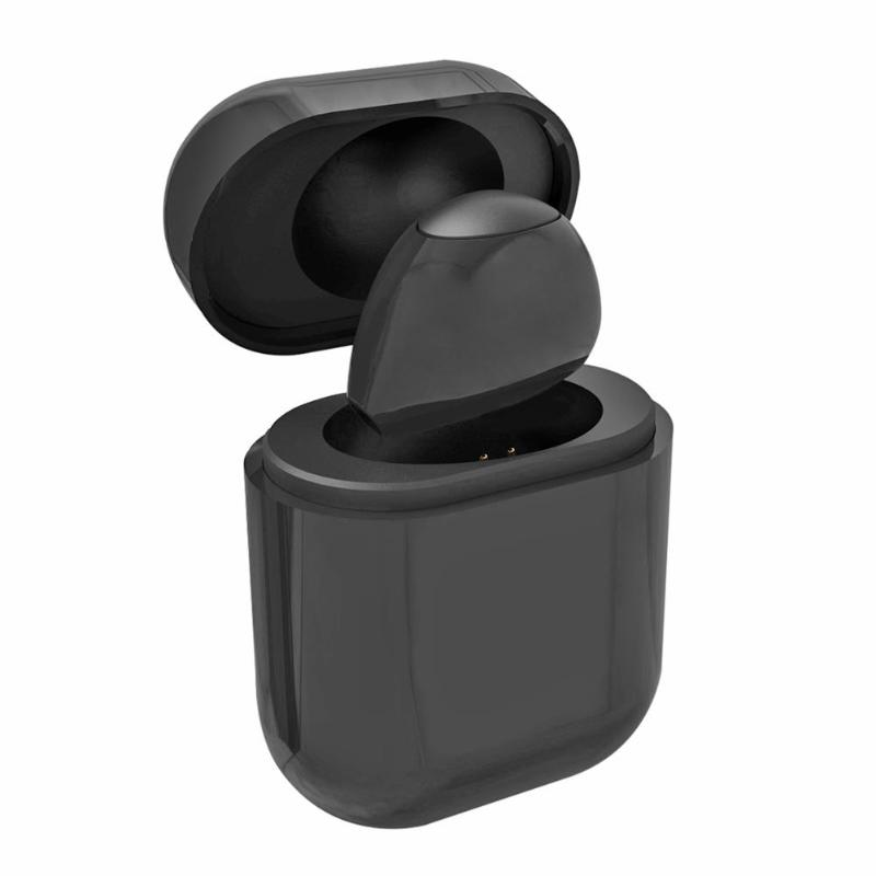 <font><b>S9</b></font> Single Mini Small Stereo Earbuds Wireless <font><b>Bluetooth</b></font> Earphone Headset <font><b>Headphone</b></font> with Charging Box for IOS Android Phone image
