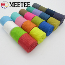 8yards 32mm 2mm Thick Canvas Ribbon Belt Bag Webbings Strap Tape For Strapping Bias Binding DIY Sewing Craft